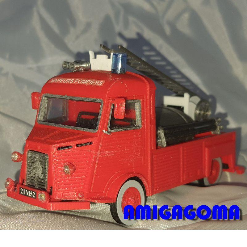 Citroën type H Firetruck